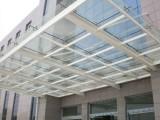 西安玻璃雨棚玻璃陽光房玻璃感應門