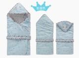 2015春款新款童棉衣加厚保暖儿童抱被耐磨加固多功能婴儿包被