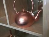 1.5升 铜壶 茶水壶 茶艺壶 纯手工加厚紫铜壶