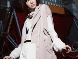2015新款女式大码风衣sz 大衣百搭中长款西装领外贸原单女装外