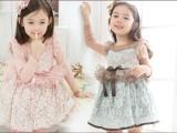 童装连衣裙外贸女童新款长袖连衣裙 韩版春款童装连衣裙一件代发