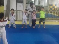 华灵路成人跆拳道培训哪里教的好