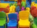 早幼教桌椅床幼儿园地垫儿童益智玩具大型滑梯