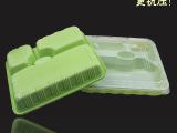 一次性餐具一次性快餐盒环保餐盒一次性三格饭盒送餐饭盒800个/箱