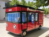 水果展销车品牌好的电动四轮街景餐车在哪能买到