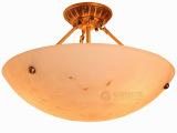 创意云石吸顶灯 全铜吊灯欧式时尚客厅吸顶灯卧室灯餐厅灯具灯饰