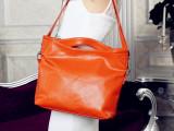 新款时尚女包 欧美单肩手提斜跨包女士包包头层皮女包免费代理