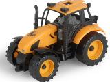 儿童玩具车 惯性工程车 拖拉机模型 宝宝工程车玩具 模型车958