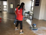 廣州保潔培訓教你清洗瓷磚