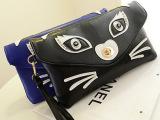 2014新款包包批发绣花猫猫手拿包时尚潮流淑女单肩包斜挎包多色包