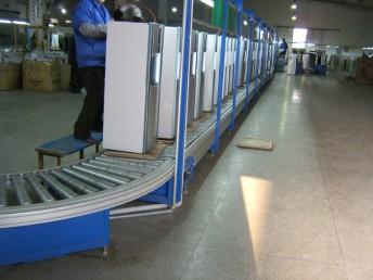 里恩成都线棒精益管柔性生产线 周转车铝合金型材 厂家直销
