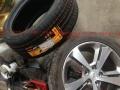 标致408原装二手胎原厂轮胎转让