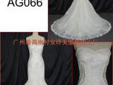 AG066优雅修身鱼尾婚纱 欧美蕾丝新娘礼服 外贸原单定制 厂家