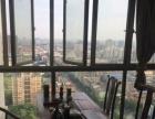 东方银座90精装带家具出租才租3500每月