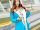 实拍 2014新冬女款外套韩版中长款加厚大码修身羽绒棉服