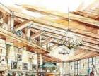 丝路教育学院湛江市廉江市室内设计手绘培训班