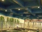 超大泳池健身羽毛球馆