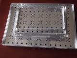 无油渍邦定铝盘,邦定铝盒邦定周转盘,有台阶透气孔大小有现货