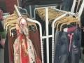 服装店衣架货架置物架双排货架处理便宜卖