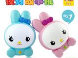 妮妮雅兔子宝宝充电故事机触摸早教机带夜灯儿童最佳送礼启蒙玩具