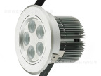 LED天花灯 灯珠美国旭明 5W/瓦5头LED射灯 可调节角度 电源调光