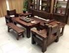 老船木家具老船木茶桌古船木都是百年的老木