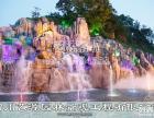 四川成都大型GRC人工塑石假山设计 施工 大型塑石假山制作