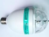 东莞厂家LED旋转七彩RGB舞厅球泡灯3