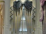 现代简约涤纶遮光窗帘 色织提花窗帘布 客厅卧室窗帘厂家直销