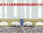 青岛风斗士跆拳道各级的晋级考试是怎样的(2)