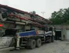 10年中联52米混凝土泵车二手泵车供应