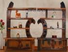 实木红酒架摆件家用酒瓶架子白洋酒柜杯架实木展示架创意现代简约