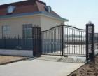 红桥区加工铁艺大门,阳台护栏护窗,围挡围栏