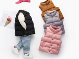 儿童羽绒服 棉内胆 棉马甲批发货源厂家直供儿童棉衣