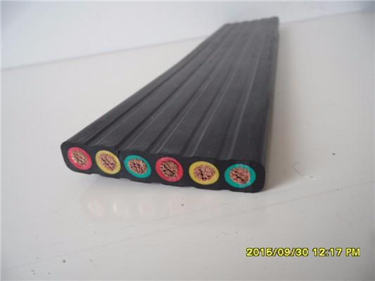 栗腾供应YFFB起重机卷盘扁电缆 起重机扁电缆厂家