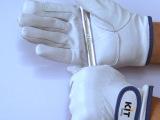 KIT猪皮手套 918款皮革耐磨劳保手套 贴手时尚灵活驾车维修工作