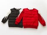 2014冬款 多多同款 儿童飞鹤针织袖套头衫棉衣卫衣 外贸童装批