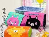 崇川批发 可爱 儿童卡通枕头 猫咪款记忆棉枕芯 护颈枕娃娃枕