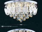 雷士照明 LED吸顶灯客厅灯 奢华水晶灯具灯饰 大款