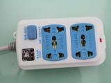 批发恒致8802大功率电源插座 接线插板 插排 插线板批发3米,