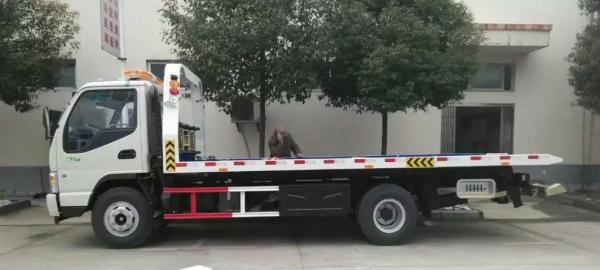 全新道路救援车平板拖车 一拖二清障车厂家直销