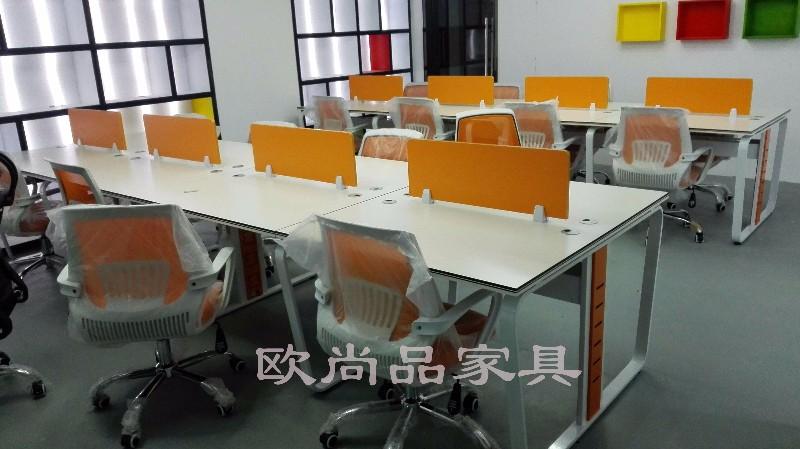 屏风办公桌钢架式工位桌职员桌员工桌办公椅等厂家低价出售