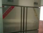 饭店厨房用四门冰柜,展示柜,打荷台低价急转
