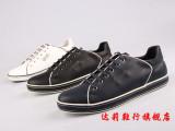 2014新款潮工厂直销广州外贸英伦休闲系带男鞋微信代理一件代发