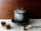 批发陶瓷餐具色釉陶瓷日韩式N釉系列 竹品炖盅
