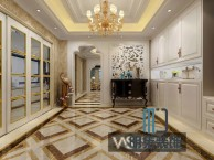 上海长宁区家装装修设计公司 公寓别墅设计现代欧式装修设计