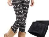 纹沁 孕妇装 孕妇打底裤  春秋装加绒保暖托腹裤 打底裤
