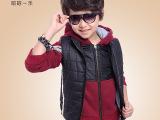 男童卫衣套装 2014童装秋冬装新款 韩版儿童纯棉卫衣三3件套批