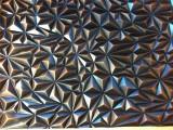广东供应厂家直销201复古款3D立体深冲压石头纹压花不锈钢板
