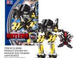 诚招玩具加盟代理,机器人玩具,积木机器人/玩具(A-D四款混装